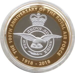 2018 Royal Mint British Royal Air Force Spitfire £2 Two Pound Coin Pack Sealed