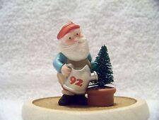 "1992 Hallmark ""Green Thumb Santa"" Christmas Ornament"