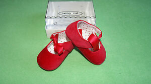 Mayoral red pram shoes boots for baby