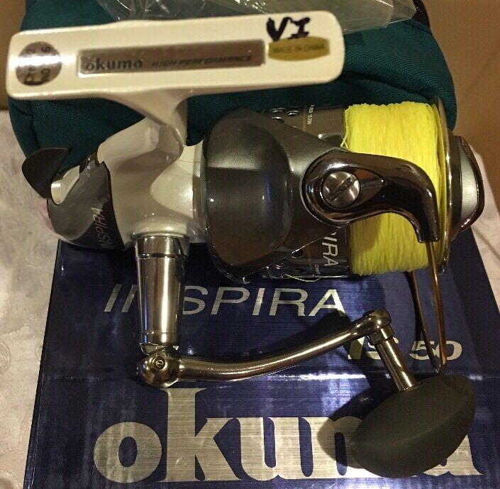OKUMA INSPIRA IS 50 SPINING  REEL  SPINING 2 ac12d7