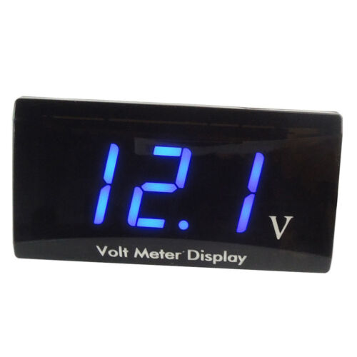 12V Digital LED Display Voltmeter Car Motorcycle Voltage Volt Gauge Panel Meter