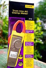 Fluke 373 Digital Clamp Meter 600A AC Current DC Voltage CAP Ohm Multimeter