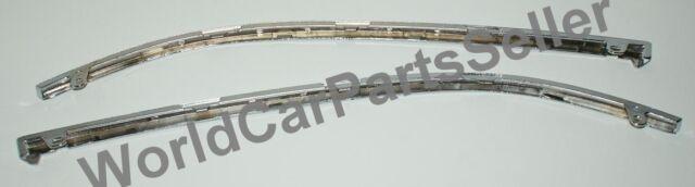 1998-2001 Audi A6 C5 Headlight Molding Chrome Lower Trim Left + Right Pair