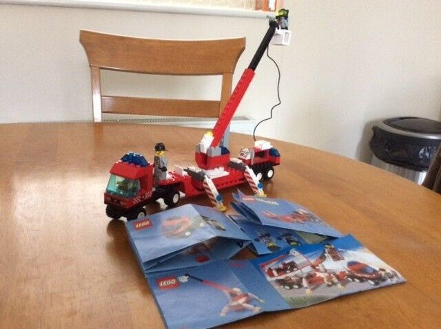 LEGO 6477 Fire Fighters Lift Truck + Manual 100% Complete