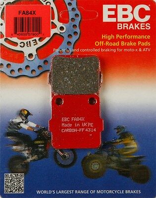 X Series Carbon Brake Pads Yamaha YZ125 YZ250 2008-2016 FRONT EBC FA450X