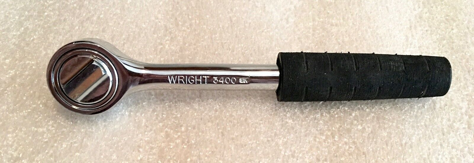 Wright Tool 3400 3 8 In. Drive Round Head Ratchet Made In USA