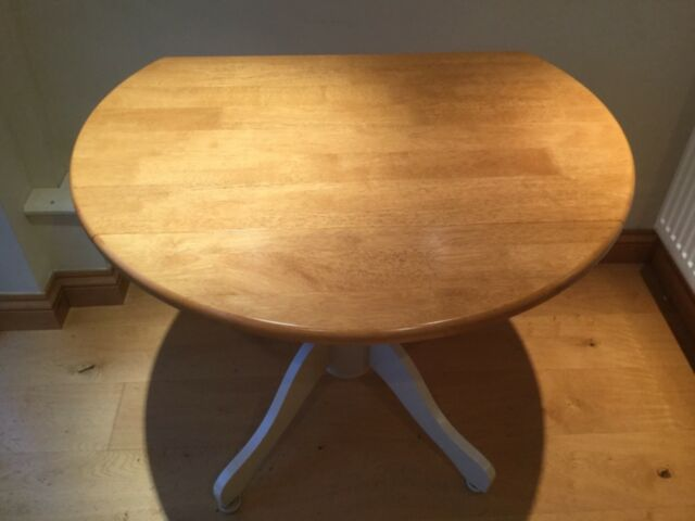 Wooden Dining Table and 4 Chairs - Collection Only