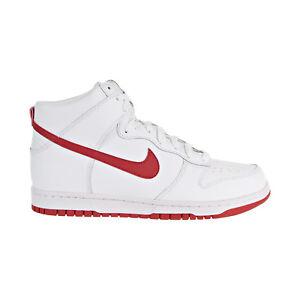 on sale d49a5 0796f Image is loading Nike-Dunk-Hi-Men-039-s-Shoes-White-