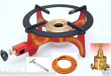 Bhatti Commercial LPG Gas Stove Bhatti Canteen Burner Complete Set