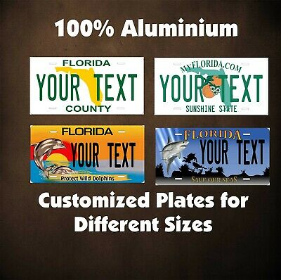 Florida 1926 License Plate Personalized Custom Auto Car Bike Motorcycle Moped