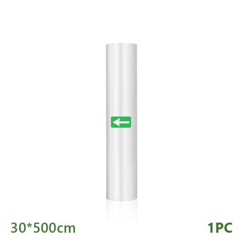 Food Vacuum Bag Storage Bags Rolls For Vacuum Sealer 12//15//20//25//28//30*500cm
