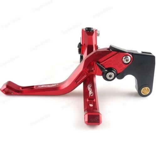 Motor Adjustable Brake Clutch Short Levers And Grips For Honda CBR125R 2004-2011