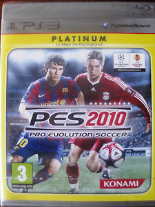 PES 2010 ps3 castellano