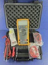 Fluke 179 Trms Multimeter Hard Case Screen Protector Accessories Excellent