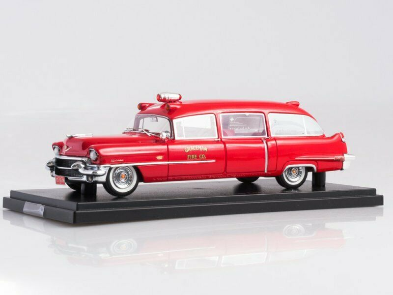Collection scale model 1 43, Cadillac Miller Ambulance