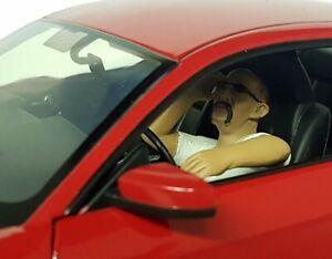 American-Diorama-1-18-Scale-George-Driving-Poly-Resin-figure-model-Car-display