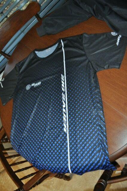 Sig Sauer Gun Black Rifle Men's Short Sleeve T-Shirt Graphics Tee XL