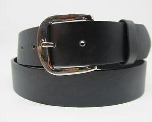 MEN WOMEN Black Brown Leather Snap On Removable buckle No Buckle belt+big sizes