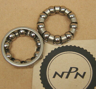 """Vintage NOS 421 Bicycle Coaster Brake Bearing Retainers 10 Balls 1 1//2/"""" Diameter"""