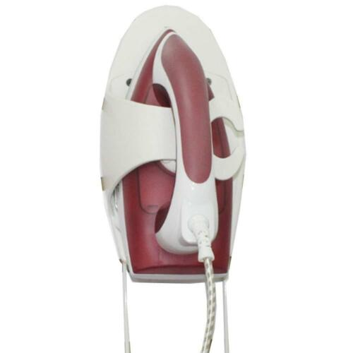 Ironing Board Holder and Iron Rest Heat Resistant Wall Mounted Holder with Steel