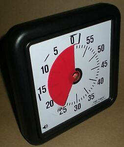 time timer visual alarm countdown clock for perception problems