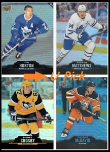 2020-21 UD Tim Hortons Hockey Base - U PICK Flat Ship - 33c/Card SEE DESCRIPTION