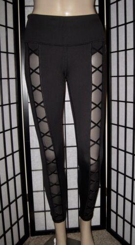 e di Sport Victoria's Leggings stretti attillati Mesh Secret Black qptPgw5