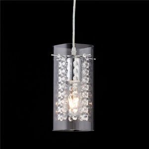 Modern crystal glass pendant light lamp hanging ceiling lighting modern crystal amp glass pendant light lamp hanging aloadofball Image collections