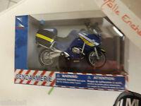 Moto Miniature Bmw R 1200 Rt P Gendarmerie Nationale 1/18 Nouveau Decor