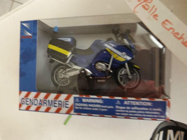 Moto Miniature Bmw R 1200 Rt P Police National 1 18 Decoration Ebay