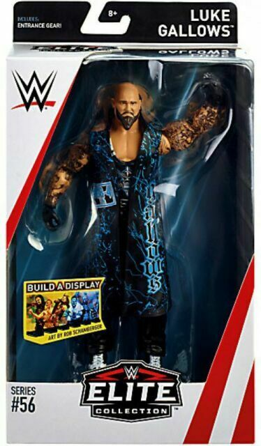 WWE Mattel Elite Luke Gallows series 56 6 inch figure complete excellent