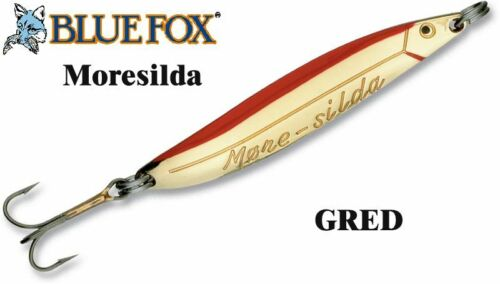 BLUE FOX MORESILDA Norwegian design spoon  for catching sea trout and salmon