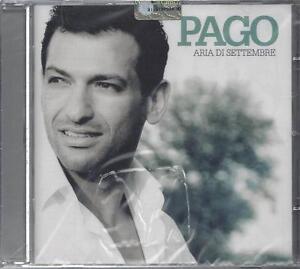 CD-Compact-disc-PAGO-ARIA-DI-SETTEMBRE-nuovo-sigillato