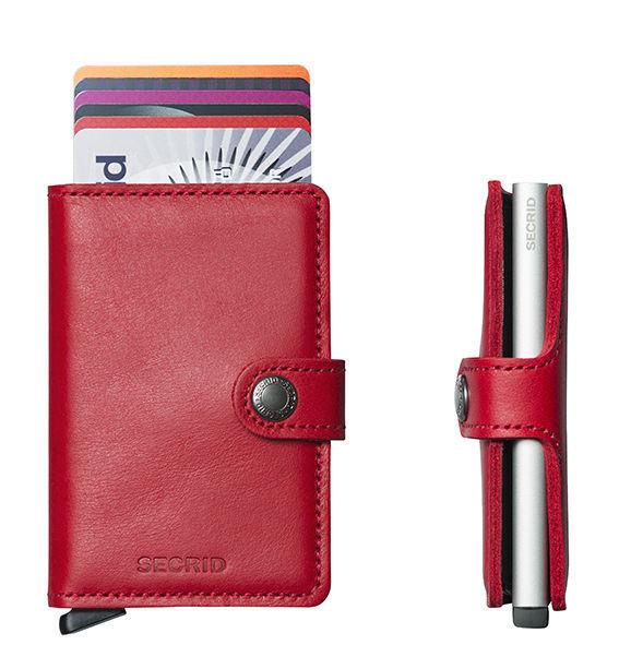 Secrid wallet RED Mini Wallet card Protector RFID Credit card secure SC1153