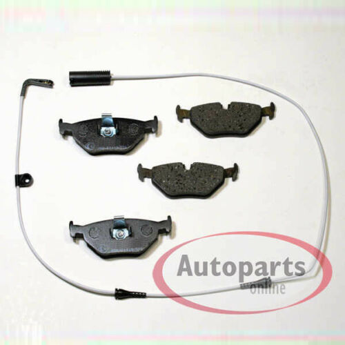 BMW 5er F10 F11 F18 Bremsbeläge Bremsklötze mit Warnkabel für vorne hinten