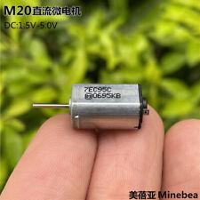 Minebea Pkn7ec95c M20 Motor Dc 15v 5v High Speed Mini 8mm10mm Electric Motor