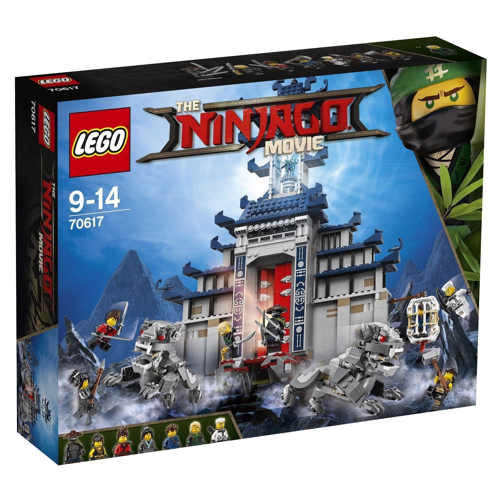 LEGO The Ninjago Movie Temple of The Ultimate Ultimate Weapon 2017  70617