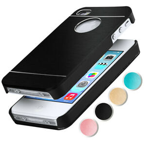 Aluminium-Hard-Case-For-Apple-IPHONE-4S-IPHONE-4-Protection-Brushed