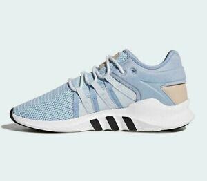 quality design 828e5 48fe7 Details about adidas Originals Womens EQT Racing ADV Trainers Blue/White  All Sizes CQ2157