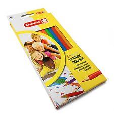 BRUYNZEEL matite colorate - 12 di alta qualità per Bambini Matite Colorate
