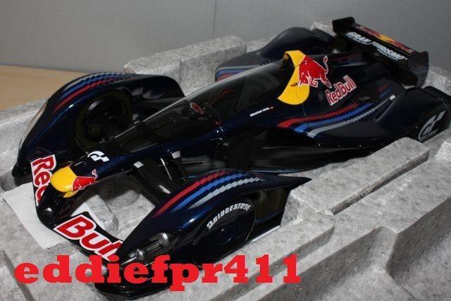 1 18 2010 RED BULL RACING X2010 S VETTEL MARK WEBBER F1 AUTOART GRAN TURISMO 5