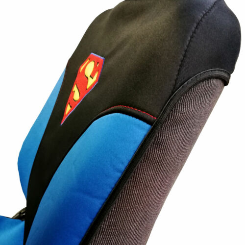 For Ford New DC Comic Superman Neoprene Sideless Waterproof Car Seat Covers