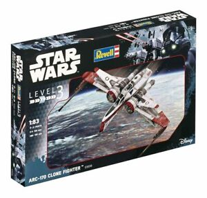 Star-Wars-Model-Kit-1-83-ARC-170-Fighter-10-cm