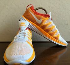 reputable site 64f26 cd030 item 3 Nike Flyknit Lunar2 Running Shoes ORANGE White Red 620658 101 SIZE  9.5 -Nike Flyknit Lunar2 Running Shoes ORANGE White Red 620658 101 SIZE 9.5