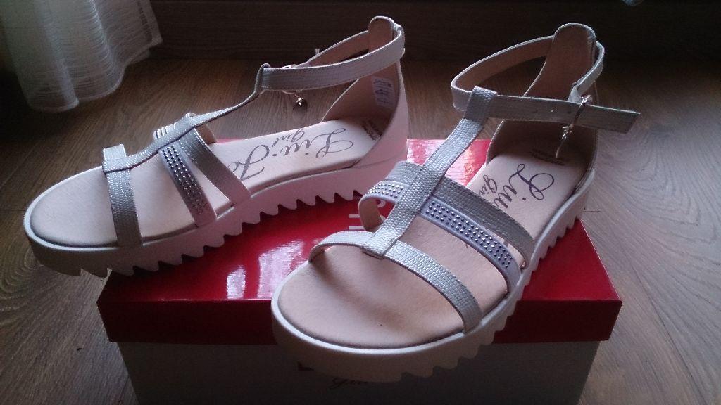 LIU JO GIRL 00851 SANDALI zapatos mujer FIBBIA CINTURINO TESSUTO TESSUTO CINTURINO STRASS plata 84329e