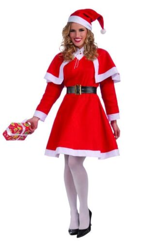 Santa Claus Adult Womens Costume Standard Size NEW Simply Miss Mrs