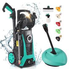 2000psi 21gpm Electric Pressure Washer High Power Cleaner Machine Water Sprayer
