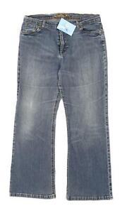 Womens-Marks-amp-Spencer-Blue-Denim-Jeans-Size-16-L26