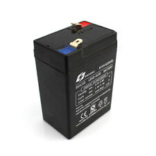 1x Lead-Acid Battery 6V 4AH Rechargeable Sealing Heat Resistant Power Lasting
