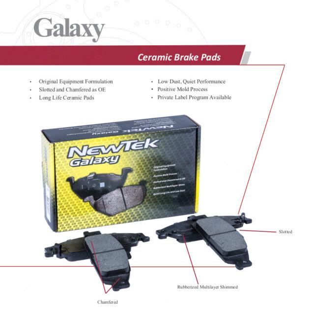 SCD929 FRONT Ceramic Brake Pads Fits 05-06 Saab 9-2X